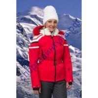 Куртка горнолыжная женская MAXX 201225 красная